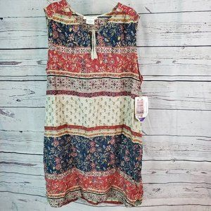 BeachLunchLounge | Earthy Sleeveless Dress XXL
